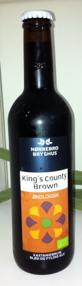 N�rrebro Kings County Brown Ale (�kologisk) - Brown Ale