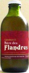 Sainsbury�s Biere Des Flandres - Pale Lager