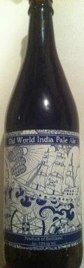 BrewDog Old World India Pale Ale - India Pale Ale (IPA)