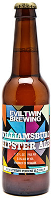 Evil Twin Williamsburg Hipster Ale - American Pale Ale
