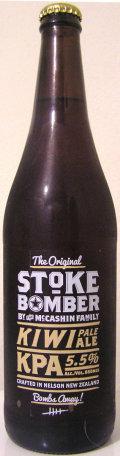 McCashin Family Original Stoke Bomber Kiwi Pale Ale