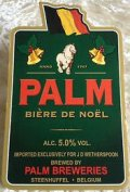 Palm Bi�re de No�l - Belgian Ale