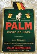 Palm Bi�re de No�l