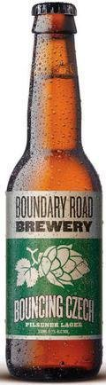 Boundary Road Brewery Bouncing Czech