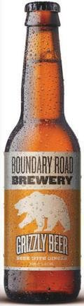 Boundary Road Brewery Grizzly Beer