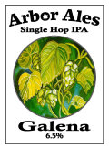 Arbor Single Hop IPA Galena - India Pale Ale (IPA)