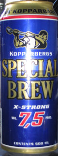 Kopparbergs Special Brew X-Strong 7.5%