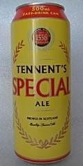 Tennents Special Ale / 70/-