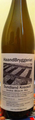 HaandBryggeriet Sundland Kreosot - Black IPA