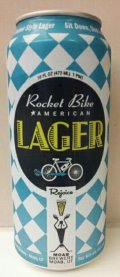 Moab Brewery Rocket Bike American Lager
