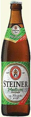 Schlossbrauerei Stein Steiner Medium Hell - Low Alcohol