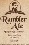 Adelbert�s Rambler Ale