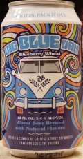 College Street Big Blue Van