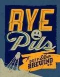 Deep Ellum Rye Pils