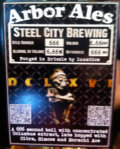 Arbor / Steel City DCLXVI - Black IPA