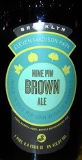 Brooklyn Nine Pin Brown Ale - Brown Ale