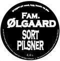 Fam. �lgaard Sort Pilsner