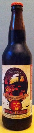 Flat Tail Feathertop Pumpkin Stout