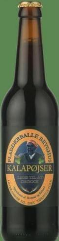 Pladderballe Kalap�jser - Brown Ale