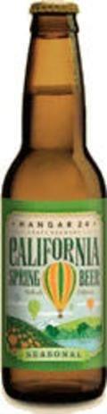 Hangar 24 Seasonal: California Spring Beer