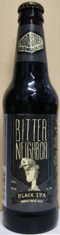 Third Street Bitter Neighbor Black IPA - Black IPA