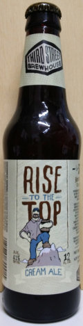 Third Street Rise To The Top Cream Ale - Cream Ale