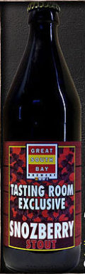 Great South Bay Tasting Room Exclusive #02: Snozberry Stout