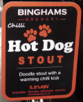 Binghams Chilli Hot Dog Stout