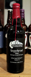Buffalo Bayou Gingerbread Stout