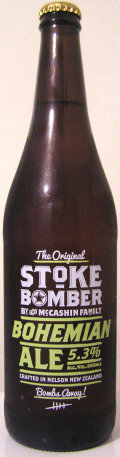 McCashin Family Original Stoke Bomber Bohemian Ale