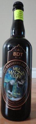 Les Brasseurs du Temps Mea Magna Culpa Vieillie en F�t de Bourbon - Barley Wine