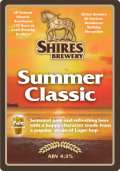 Shires Summer Classic - Golden Ale/Blond Ale