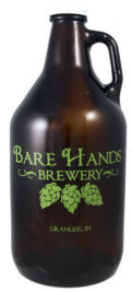 Bare Hands Columbus Double IPA