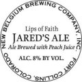 New Belgium Lips of Faith - Jared�s Smoked Peach Porter - Porter