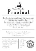 Praotnat 2011  - India Pale Ale (IPA)