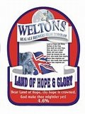 Weltons Land Of Hope & Glory