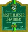 Distelh�user Festbier - Oktoberfest/M�rzen