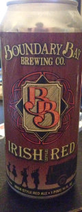 Boundary Bay Irish Red - Irish Ale