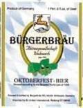 B�rgerbr�u Wolnzacher Oktoberfest-Bier