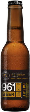 961 Beer/Kissmeyer - Brewmaster�s Select 01 - Lebanese Pale Ale