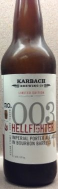 Karbach 003 Bourbon Barrel Hellfighter