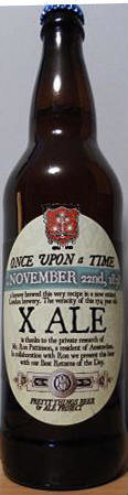 Pretty Things Once Upon a Time, November 22nd, 1838, X Ale