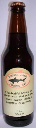 Dogfish Head Punkin Ale  - Spice/Herb/Vegetable