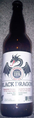Alley Kat Dragon Series Black Dragon Double IPA