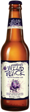 Blue Dawg Brewing Shadow�s Wild Black Blackberry Lager