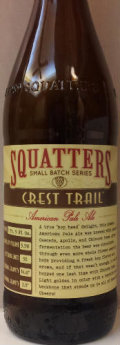 Squatters Small Batch Series  Crest Trail