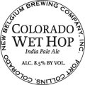 New Belgium Colorado Wet Hop India Pale Ale - Imperial IPA