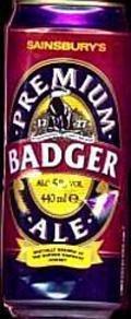 Sainsbury�s Premium Badger Ale