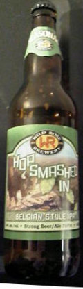 Wild Rose Hop Smashed In Belgian IPA
