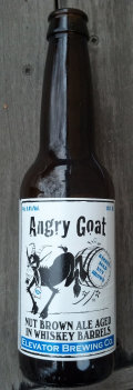 Elevator Angry Goat Barrel Aged Nut Brown Ale